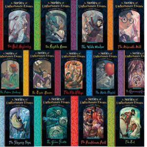 A Series of Unfortunate Events Books Set by Lemony Snicket13 Books Set  Books All Kids Should Read Before They're 12