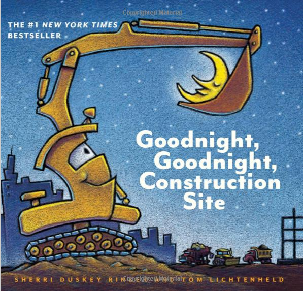 Goodnight Goodnight construction site Books for 12-year-olds and Smaller Kids