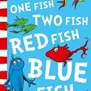 One Fish, Two Fish, Red Fish, Blue Fish (Pb Om) 25 Most Popular Dr. Seuss Books For Children's