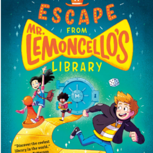 Escape from Mr. Lemoncello's Library  25 Must-Read Mystery Books For Kids
