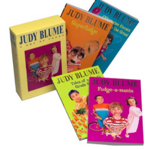 Judy Blume Boxed Set: Fudge-a-Mania; Otherwise Known as Sheila; Tales of a Fourth Grade Nothing; Superfudge 25 Most Popular Judy Blume Books For Everyone Should Read