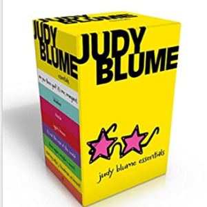 Judy Blume Essentials: Are You There God? It's Me, Margaret; Blubber; Deenie; Iggie's House; It's Not the End of the World; Then Again, Maybe I Won't; Starring Sally J. Freedman as Herself 25 Most Popular Judy Blume Books For Everyone Should Read
