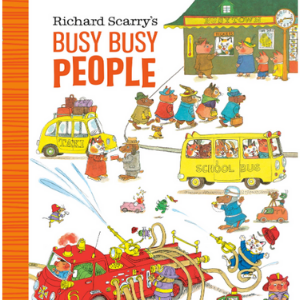 Richard Scarry's Busiest People Ever! Top 20 Best Richard Scarry Books For Childrens