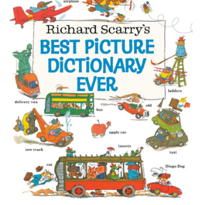 Richard Scarry's Best Picture Dictionary Ever (Giant Little Golden Book) Top 20 Best Richard Scarry Books For Childrens
