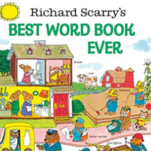 Richard Scarry's Best Word Book Ever (Giant Golden Book) Top 20 Best Richard Scarry Books For Childrens