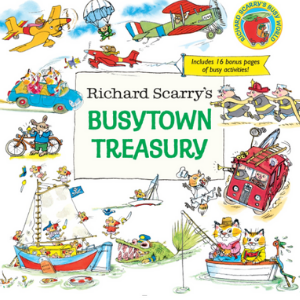 Richard Scarry's Busytown Treasury Top 20 Best Richard Scarry Books For Childrens