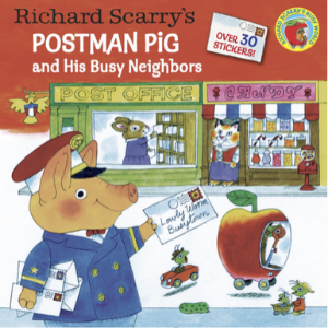 Richard Scarry's Postman Pig and His Busy Neighbors (Pictureback(R)) Top 20 Best Richard Scarry Books For Childrens
