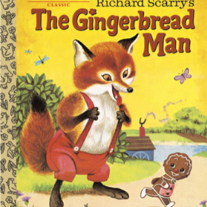 Richard Scarry's The Gingerbread Man (Little Golden Book)   Top 20 Best Richard Scarry Books For Childrens