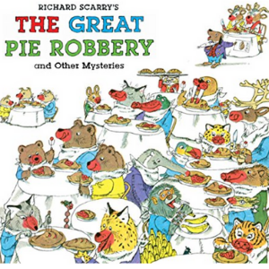 Richard Scarry's The Great Pie Robbery and Other Mysteries Top 20 Best Richard Scarry Books For Childrens
