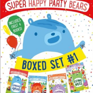 Super Happy Party Bears Boxed Set #1: Gnawing Around; Knock Knock on Wood; Staying a Hive; Going Nuts Top 25 Best Books For 7 Year Olds Children's