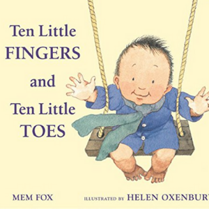 Ten Little Fingers and Ten Little Toes padded board book Top 30 Best Books For 2 Year Olds Kids