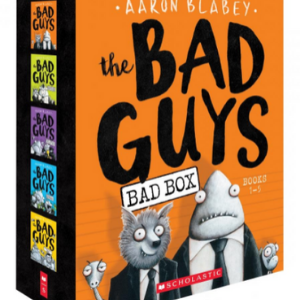 The Bad Guys Box Set: Books 1-5 Top 25 Best Books For 7 Year Olds Children's