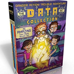 The DATA Set Collection: March of the Mini Beasts; Don't Disturb the Dinosaurs; The Sky Is Falling; Robots Rule the School Top 25 Best Books For 7 Year Olds Children's