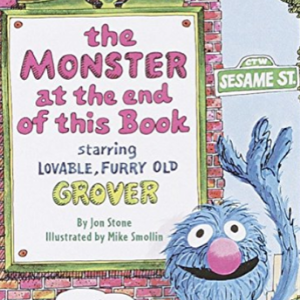 The Monster at the End of This Book (Sesame Street) (Big Bird's Favorites Board Books) 30 Recommended Best Books for 3 Year Olds Kids