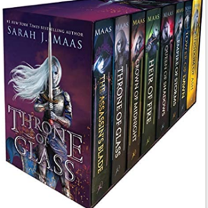 Throne of Glass Box Set 25 Best Fantasy Books for Teens