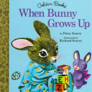 When Bunny Grows Up (Little Golden Storybook)   Top 20 Best Richard Scarry Books For Childrens
