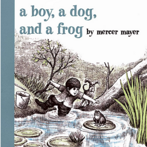 A Boy, a Dog, and a Frog  Top 25 Amazing Wordless Picture Books