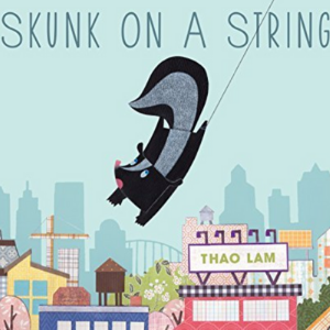 Skunk on a String Top 25 Amazing Wordless Picture Books